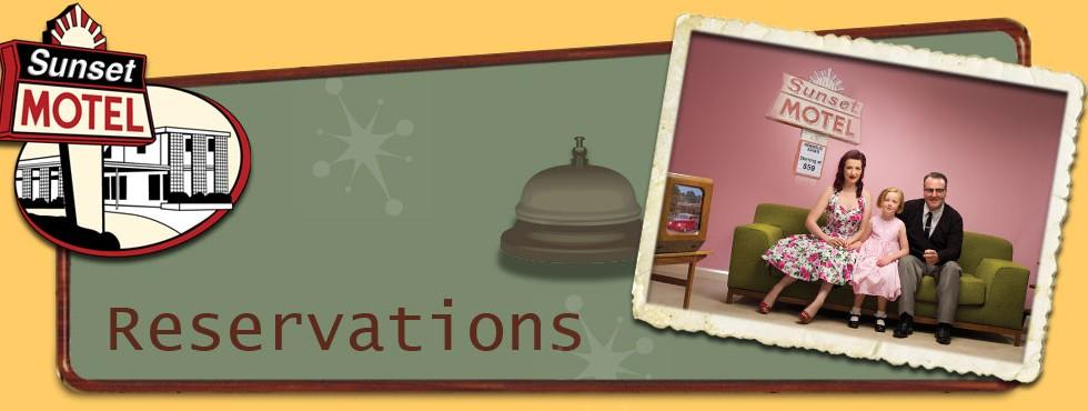 sunset motel reservations header